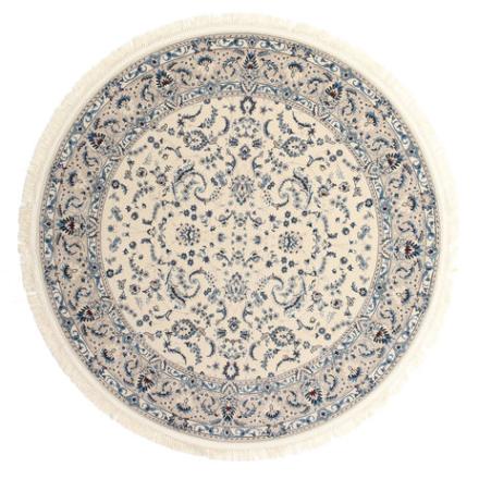 Nain Florentine - Cream / Beige matta Ø 200 Orientalisk, Rund Matta