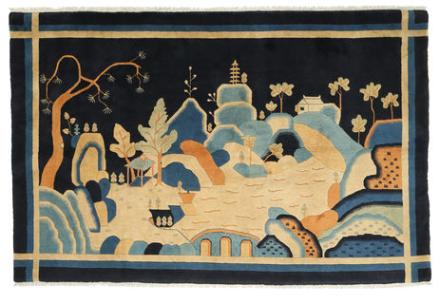 Kina antikfinish matta 152x245 Modern Matta