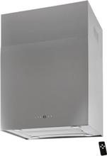 Lyx vägghängd skåp köksfläkt SEMPRE 40cm / 60cm rostfritt stål - rosrfritt stål - 60 cm