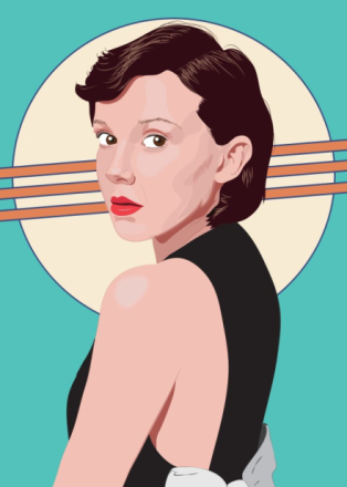 My portrait of Millie Bobby Brown she plays Eleven on Stranger Things.