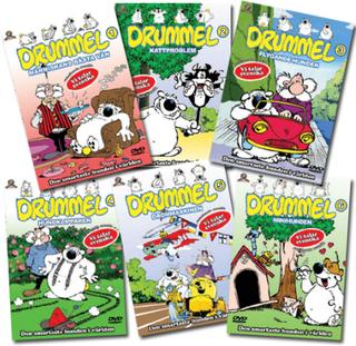 Drummel - 6 filmer