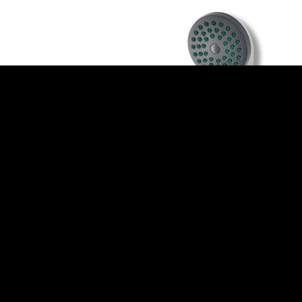 vidaXL blandingsbatteri til brusebad krom