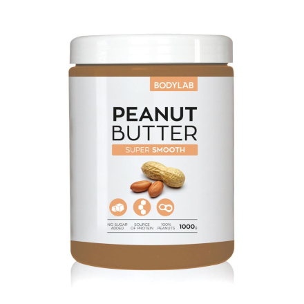 Bodylab Peanut Butter (1 kg) - Super Smooth