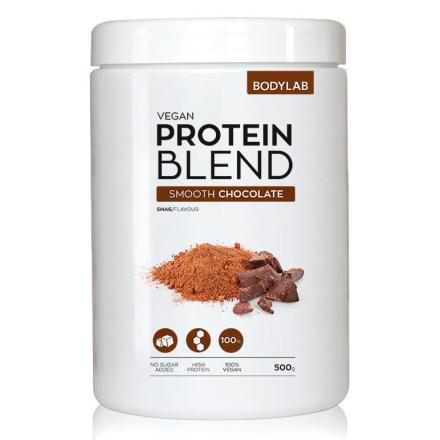 BodyLab Vegan Blend Proteinpulver Smooth Chocolate (500 g)