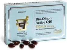 Bio-Qinon Active Q10 GOLD 100 mg 30 kapselia