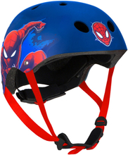 Spider-Man - Sport & Cykelhjälm - Blå Stl 54-58
