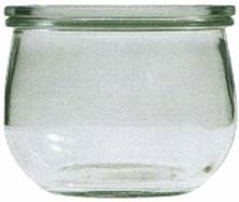 bokalen WECK tulp 0.50 l, 4 stuks +ringen+klemmen
