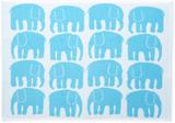 Elefantti Handduk by Finlayson   Turkos/Vit   50 x
