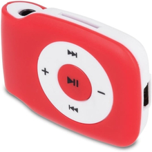 Setty MP3-spelare inkl hörlurar, Röd