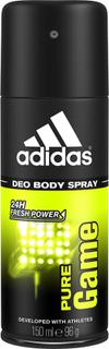 Kjøp Pure Game For Him, 150ml Adidas Deodorant Fri frakt