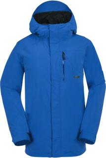 Volcom Men's L Gore-Tex Jacket Dame skijakker ufôrede Blå S