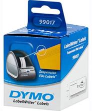 DYMO LabelWriter riippukansioetiketit 50x12 mm valk 1-pakkaus