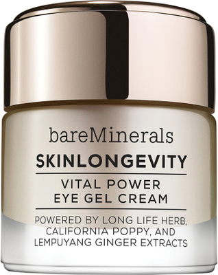 Skinlongevity Vital Power Eye Cream Gel, bareMiner
