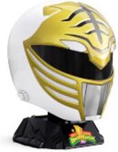 Hasbro Power Rangers Lightning Collection Mighty Morphin White Ranger Helmet 1:1 Replica