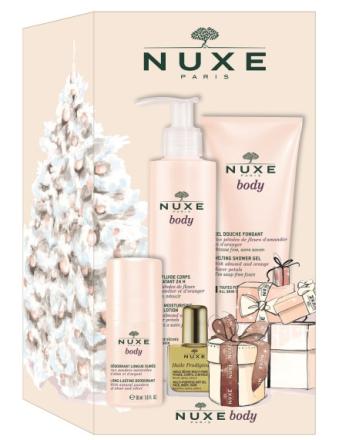 Nuxe gaveæske m. 4 produkter Til kroppen
