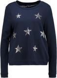 Vero Moda VMFUNNY CHRIST Sweatshirt navy blazer