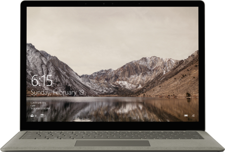Surface Laptop – 256 Gt / Intel Core i5 / 8 Gt RAM (grafiittikulta)