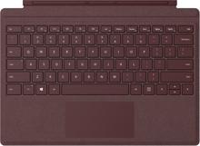 Surface Pro Signature Type Cover -suoja – viininpunainen