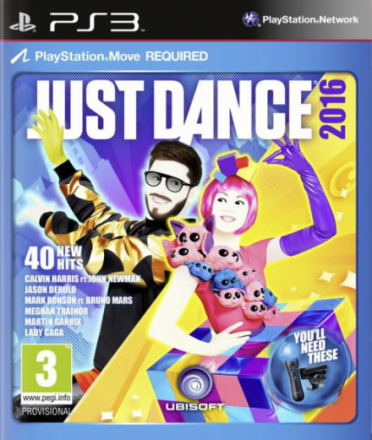 Just Dance 2016 (Nordic) /PlayStation 3
