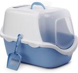 Stefanplast Kattlåda Cathys Easy Clean blå 400419
