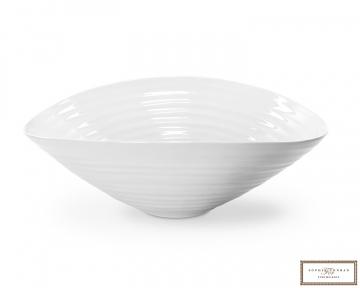 Sophie Conran medium salatbolle hvit 28,5cm