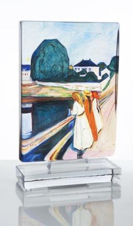 Munch Kunstblokk Pikene på Broen