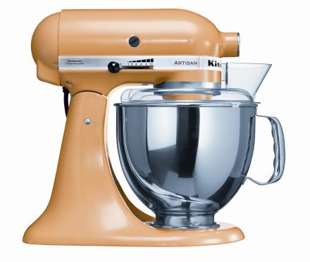 KitchenAid Artisan Kjøkkenmaskin Gul - 4,8 + 3 liter