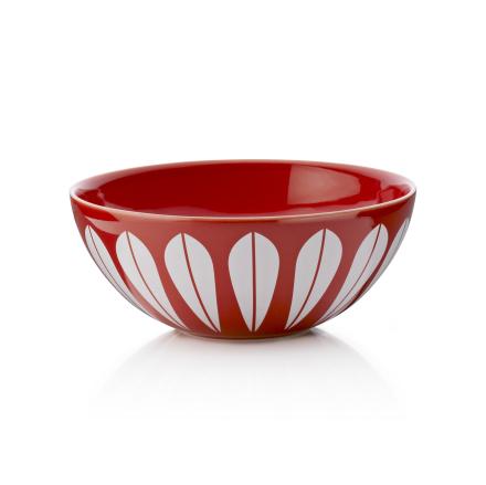 Lucie Kaas Lotus Rød Keramikk Bolle 12 cm