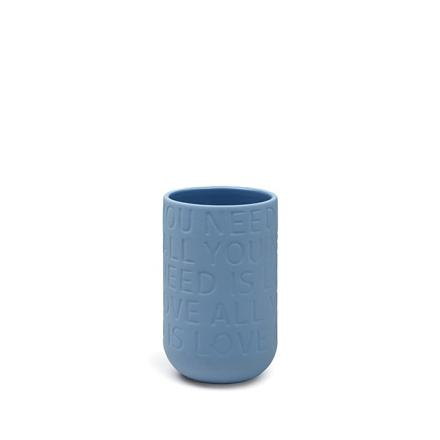 Kähler Love Song Vase Sand Mini H125