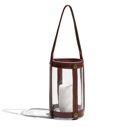 Skargaarden Möja Candle Lantern Grey Glass