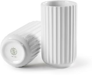 Lyngby Vase 15 cm hvit -Tilbud