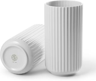 Lyngby Vase 20 cm hvit -Tilbud