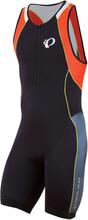 Pearl Izumi Elite InRcool Tri suit Sort/Oransje, Str. S