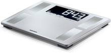 Soehnle badevægt Shape Sense Profi 200 180 kg sølvfarvet 63870