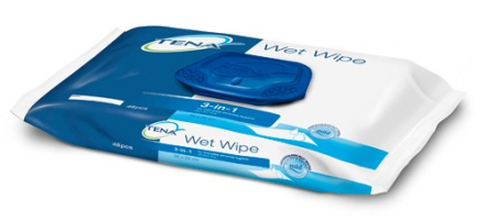 TENA Wet Wipe Kostea pyyhe, 48kpl