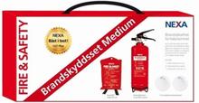 Brandskyddspaket medium röd