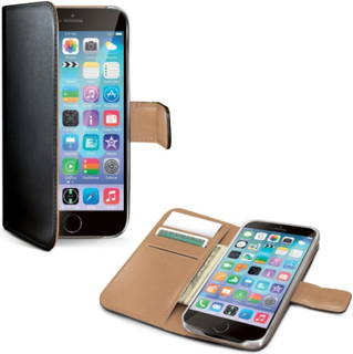 Celly Wallet Case iPhone 6/6s Svart