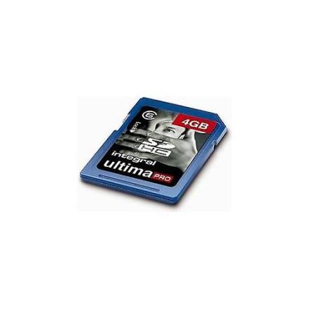 Integral Integrert Ultima Pro 4Gb SDHC klasse 6 minnekort