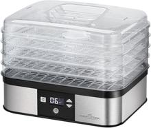 ProfiCook fødevaredehydrator PC-DR 1116 350 W sølvfarvet