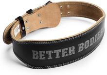 Better Bodies Weight Lifting Belt, black, large Bälten
