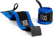 Better Bodies BB Wrist Wrap 18 inch, strong blue, Better Bodies Knä & Handledslindor
