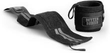 Better Bodies Elastic Wrist Wraps, black, Better Bodies Knä & Handledslindor