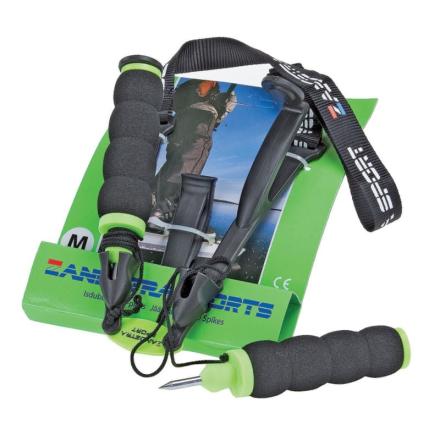 Zandstra Ice Pick (2017) Långfärdsskridskor utrustning Blå S - Junior