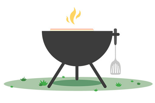 Grill-illustration