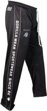 Gorilla Wear Men Functional Mesh Pants, svart/vit, small/medium Träningsbyxor herr