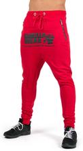 Gorilla Wear Men Alabama Drop Crotch Joggers, red, small Träningsbyxor herr