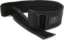 Gorilla Wear 4 Inch Nylon Belt, black, medium/large Bälten unisex