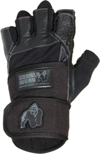 Gorilla Wear Dallas Wrist Wrap Gloves, black, xlarge Träningshandskar unisex