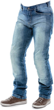 City Nomad Mens MC Jeans Jack Iron, bright blue, large MC-tillbehör herr