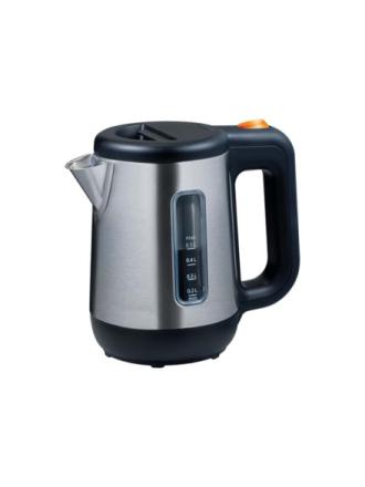 Vedenkeitin JKM076 Mini kettle - Musta/hopea - 800 W